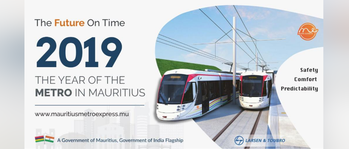 Metro in Mauritius India-Mauritius Partnership