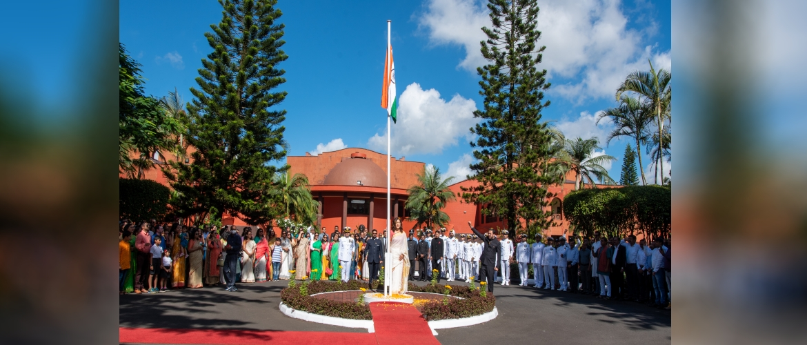 High Commission of India, Port Louis celebrates the 72nd Republic Day of India