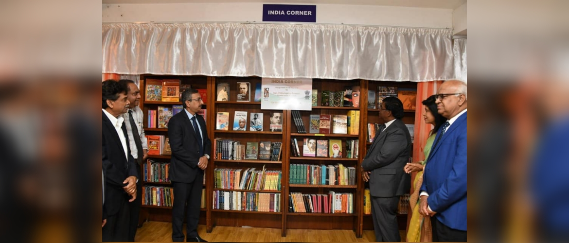 Launching of India Corner at National Library of Mauritius 16 May 2019